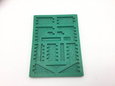 Linka OO Gauge R1 Stonework Railway Mould