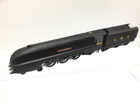 Hornby R2270 OO Gauge LMS Black Coronation 6241 City of Edinburgh