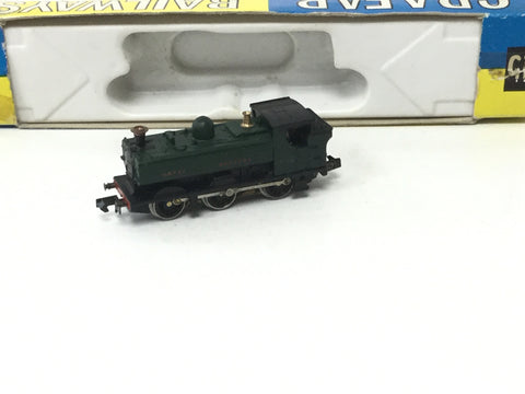 Graham Farish 1114 N Gauge GWR 57xx 5768 GWR Green (Needs Attn)