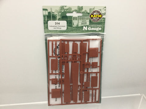 Ratio 314 N Gauge Industrial Chimney & Fittings Kit