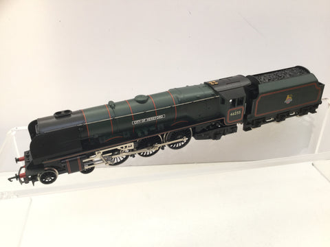 Hornby R2015 OO Gauge BR Green Duchess Class 46255 City of Hereford