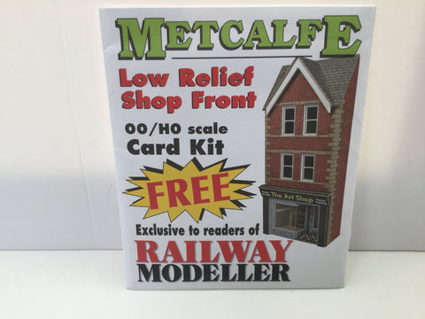 Metcalfe OO Gauge Low Relief Shop Front Kit