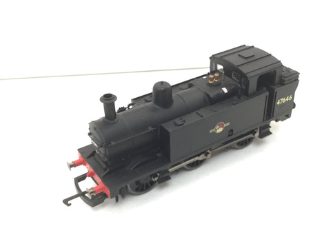 Hornby R1075 OO Gauge BR Black Class 3F Jinty 47646 DCC Fitted