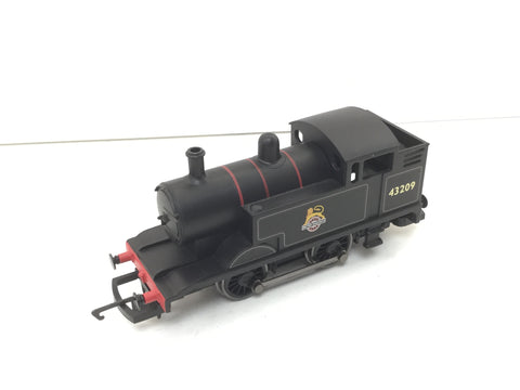 Hornby R2877 OO Gauge BR Black Freelance 0-4-0 Shunter 43209