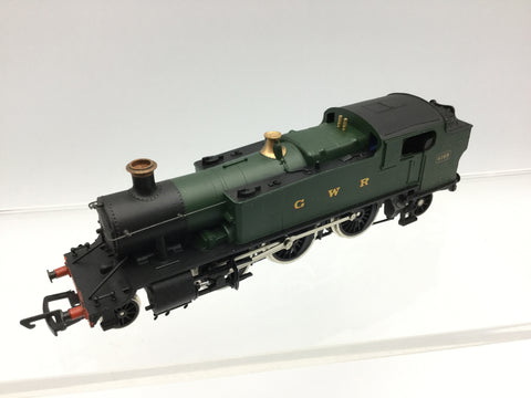 Mainline 937083 OO Gauge GWR Green 61XX Prairie 6169 DCC FITTED