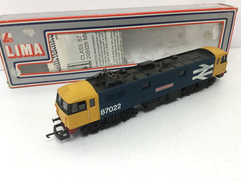 Lima 205155 OO Gauge Large Logo Class 87 87022 Cock O' the North (L1)