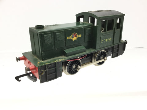 Hornby R559 OO Gauge BR Green North British 0-4-0 Shunter