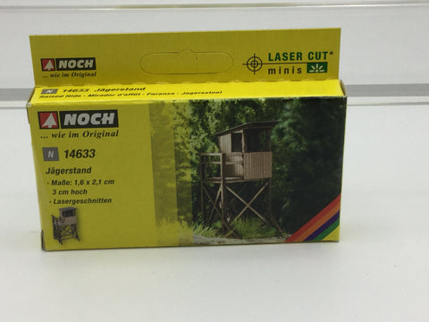 Noch 14633 N Gauge Raised Hide Laser Cut Minis Kit