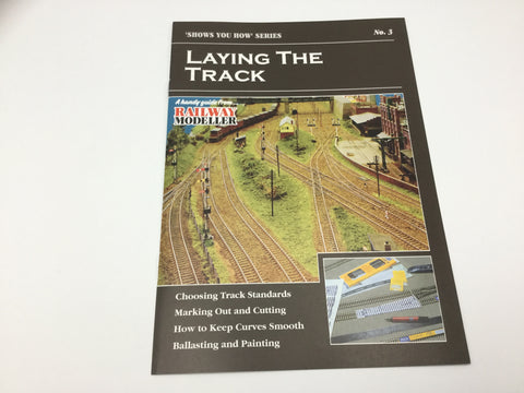 Peco SYH3 Show You How Series Laying the Track
