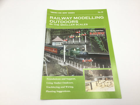 Peco SYH18 Show You How Series Railway Modelling Outdoors Smaller Scales