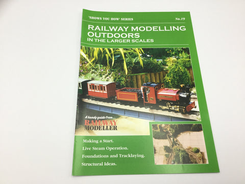 Peco SYH19 Show You How Series Railway Modelling Outdoors Larger Scales
