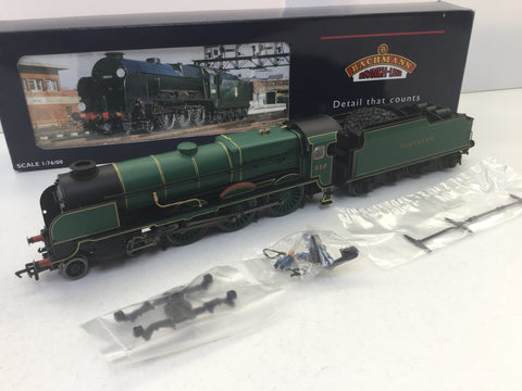 Bachmann 31-407 OO Gauge Lord Nelson Class 856 Lord St Vincent SR Green