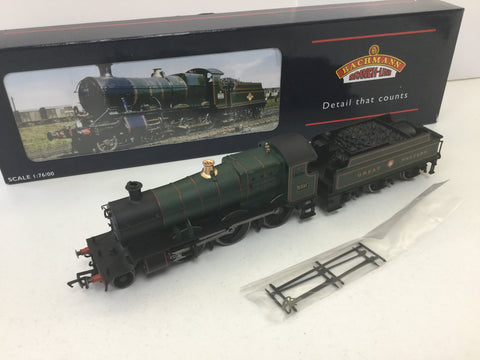Bachmann 31-829 OO Gauge GWR 43xx 4331 Lined Green