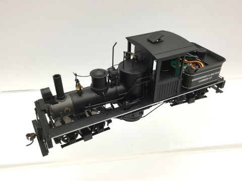Bachmann 25657 Spectrum On30 Gauge Two Truck Shay Loco Greenbrier & Big Run Lumber