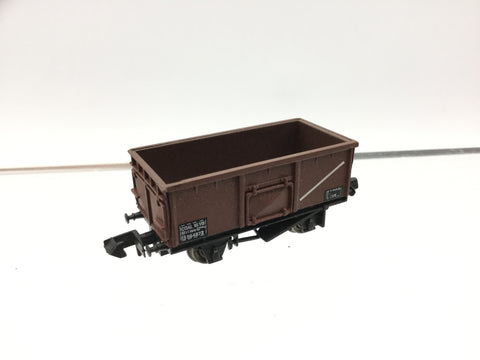 Graham Farish 373-201 N Gauge BR Brown 16t Steel Mineral Wagon B564872