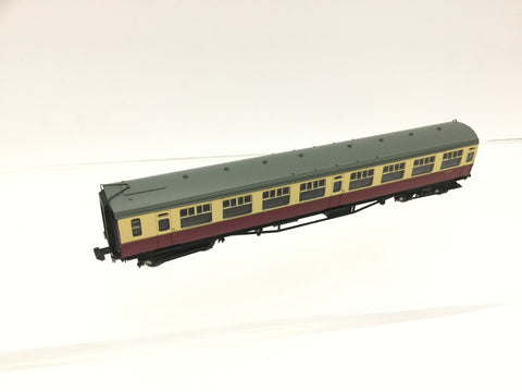 Graham Farish 374-451 N Gauge BR Bulleid Maroon/Cream Open 3rd Coach