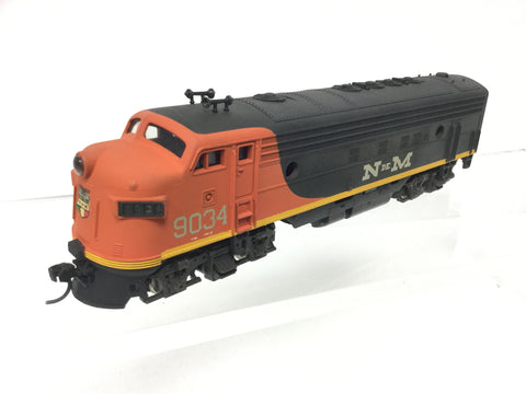 Atlas 7045 HO Gauge FP7 Diesel N de M Mexican Railways