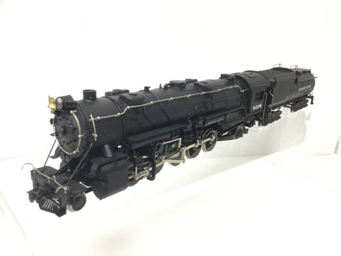 Rivarossi 1255 HO Gauge 2-10-2 Steam Loco Baltimore & Ohio 6206