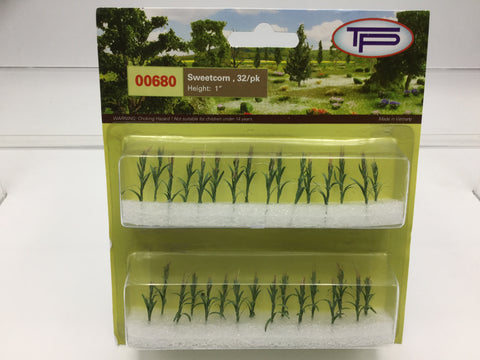 Tasma Products 00680 OO/HO Gauge Sweetcorn/Maize Plants (Pack 32)