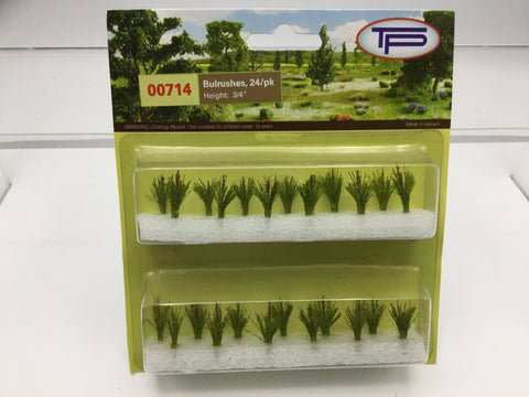 Tasma Products 00714 OO/HO Gauge Bulrushes (Pack 24)