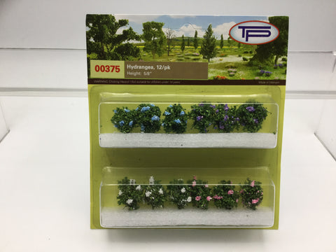Tasma Products 00375 OO/HO Gauge Hydrangea Plants (Pack 12)