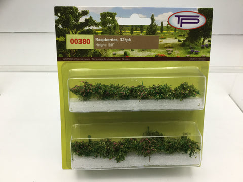 Tasma Products 00380 OO/HO Gauge Raspberry Plants (Pack 12)