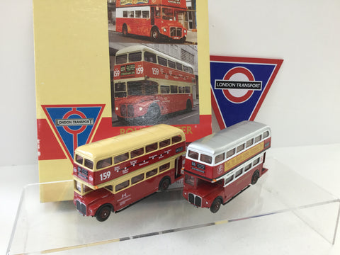 EFE 99911 1:76/OO Scale London Transport Museum Bus Set 3