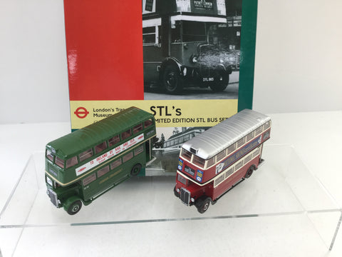 EFE 99922 1:76/OO Scale London Transport Museum Bus Set 9