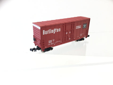 Bachmann 5120 N Gauge Hi-Cube Box Car Burlington 19820