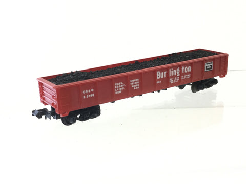 Lima 3166 N Gauge Coal Gondola Burlington