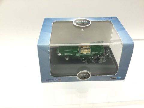 Oxford Diecast 76DTYP004 OO Gauge Jaguar D Type Green