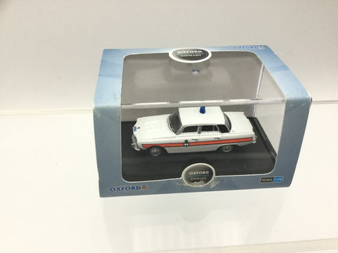 Oxford Diecast 76RP002 OO Gauge Rover P6 South Wales Police