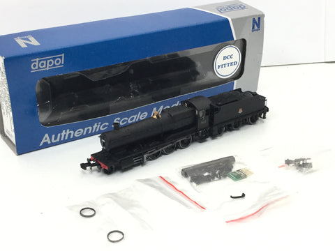 Dapol 2S-009-003D N Gauge BR 38xx 3832 Black DCC FITTED