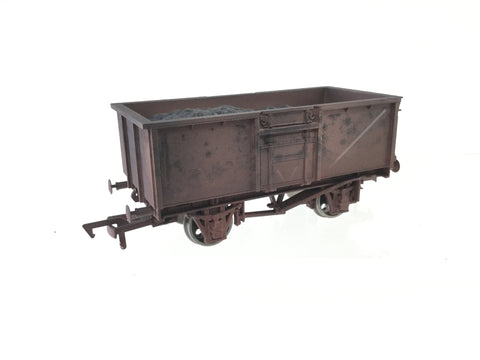 Dapol B748 OO Gauge BR 16t Steel Mineral Wagon M620638 Weathered