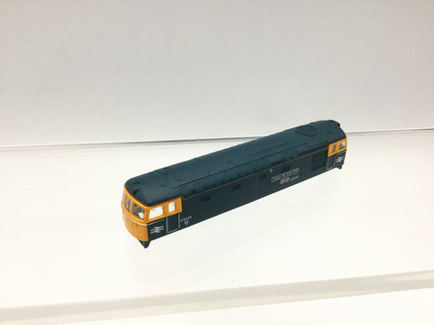 Graham Farish 371-125 N Gauge BR Blue Class 33 D6525 Cpt Bill Smith RNR BODY SHELL