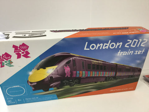 Hornby R1153 OO Gauge London Olympics 2012 Train Set (Incomplete)