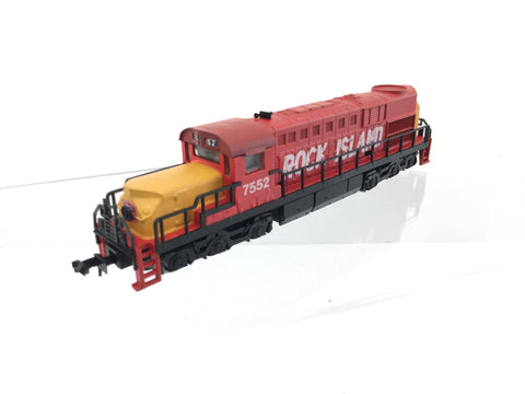 Model Power 7552 N Gauge Alco RSD-15 Loco Rock Island