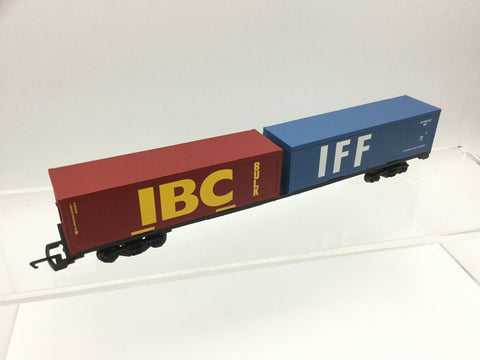 Hornby R6425 OO Gauge Container Wagon IBC/IFF