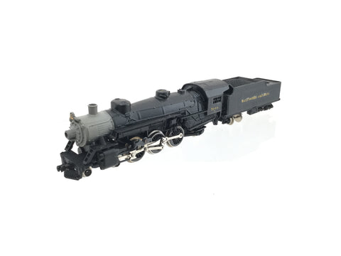 Rivarossi 9130 N Gauge Pacific 4-6-2 Baltimore & Ohio 5044 (Refinished)