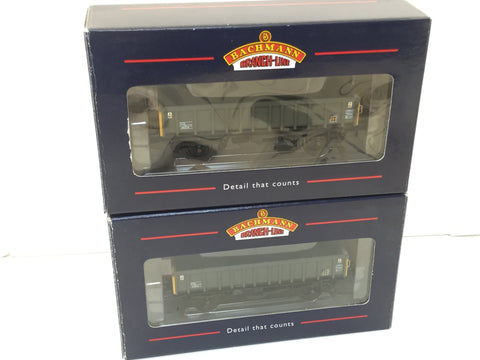Bachmann 33-027 OO Gauge MFA Box Wagon Sector Coal x2