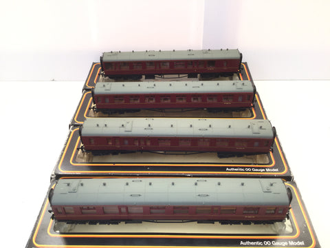 Mainline 937308/937309 OO Gauge BR Collett Coaches x4