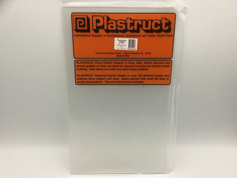 Plastruct 91253 (SSC-106P) 1.5mm Copolyester Sheet Clear 300x175mm 2pc