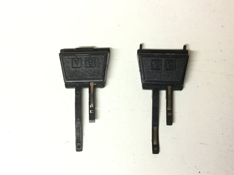 Hornby R602 OO Gauge Track Power Clips (Pair Of)