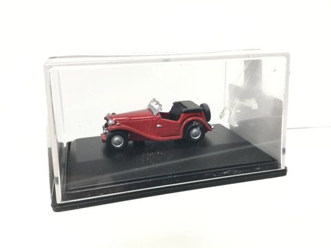 Oxford Diecast 76MGTC002 1:76/OO Gauge MG TC Red