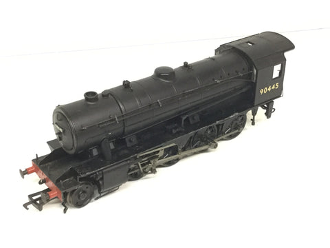 Bachmann 32-252 OO Gauge WD Austerity 2-8-0 90445 BR Black NO TENDER
