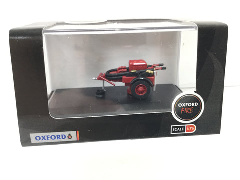 Oxford Diecast 76CCP003 OO Gauge Coventry Climax Pump Trailer