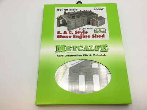 Metcalfe PO337 OO/HO Gauge Settle-Carlisle Engine Shed Card Kit