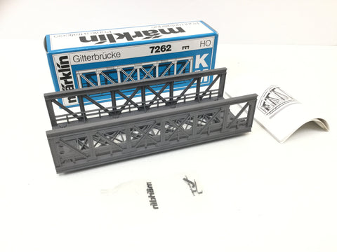 Marklin 7262 HO Gauge Lattice Girder Bridge (NEW)