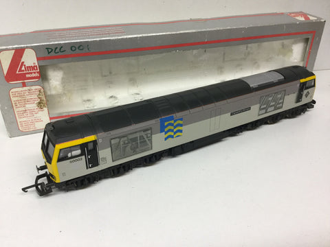 Lima 205021 OO Gauge Class 60 60002 Capability Brown Petroleum Sector