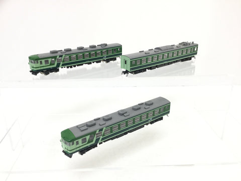Kato 10-448 N Gauge Japanese 165 Series Moonlight 3 Car Unit